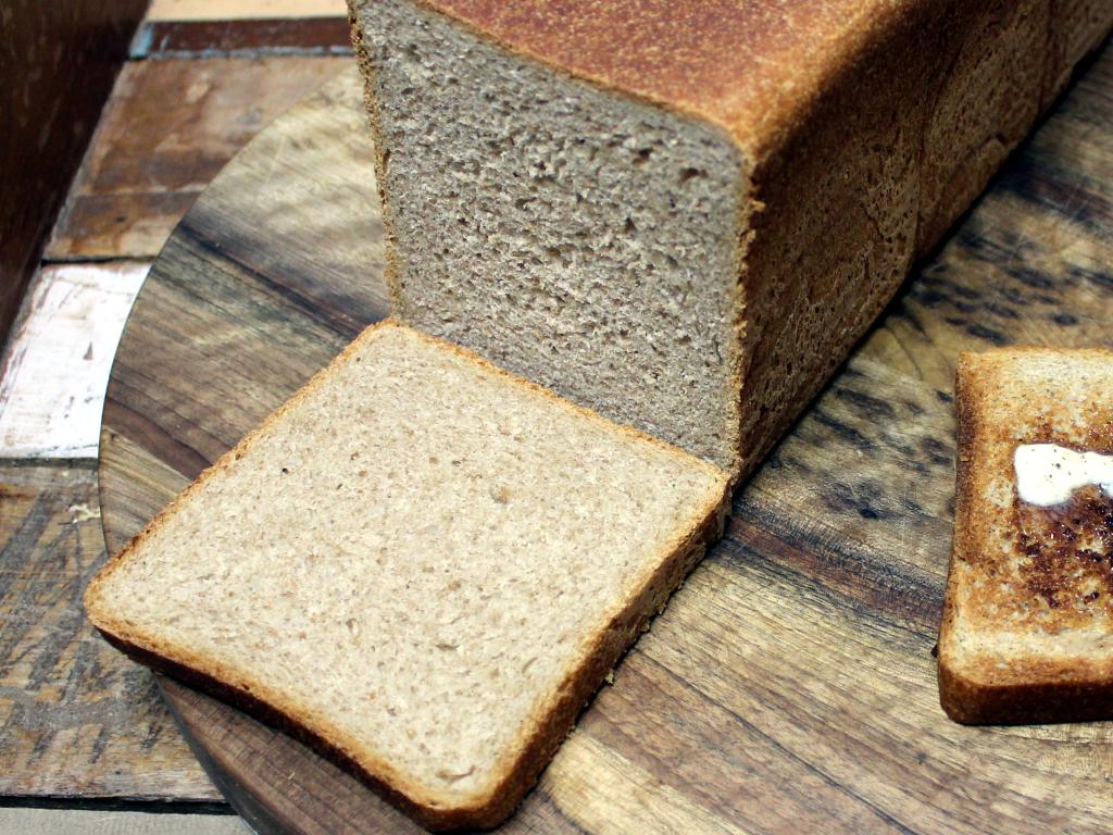 Anschnitt des Vollkorn Toastbrots. Saftig, herzhaft und mit der Kraft des ganzen Korns!